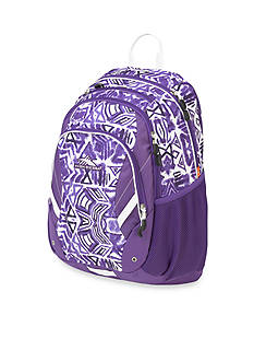 High Sierra Neenah Purple Shibori Backpack