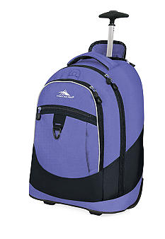 High Sierra Chaser Wheeled Backpack - Lilac Night