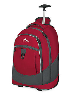 High Sierra Chaser Wheeled Backpack - Carmine Red
