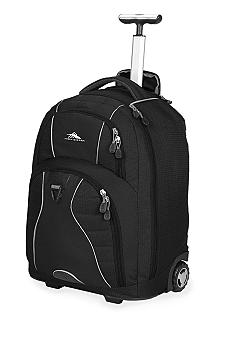 High Sierra Freewheel Wheeled Backpack - Black