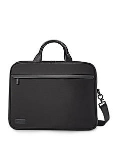 Hartmann Minimalist Double Briefcase Black - Online Only