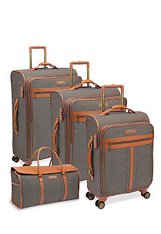 Hartmann Herringbone Luggage Collection - Terracotta Jacquard