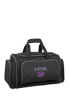 WallyBags Kansas State Wildcats 21-in. Collegiate Duffel - Online Only