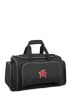 WallyBags Maryland Terrapins 21-in. Collegiate Duffel - Online Only