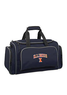 WallyBags Illinois Fighting Illini 21-in. Collegiate Duffel - Online Only