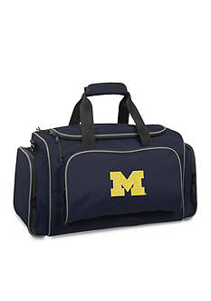 WallyBags Michigan Wolverines 21-in. Collegiate Duffel - Online Only
