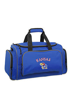 WallyBags Kansas Jayhawks 21-in. Collegiate Duffel - Online Only