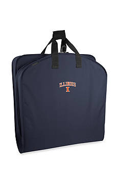 WallyBags Illinois Fighting Illini 40-in. Suit Length Garment Bag - Online Only