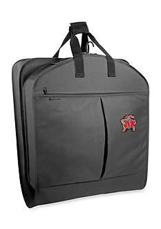 WallyBags Maryland Terrapins 40-in. Suit Length Garment Bag - Online Only