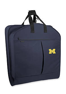 WallyBags Michigan Wolverines 40-in. Suit Length Garment Bag - Online Only