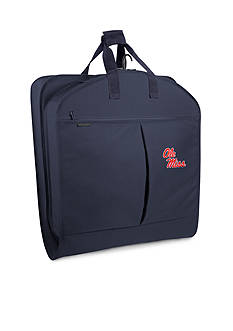 WallyBags Ole Miss Rebels 40-in. Garment Bag with Pockets