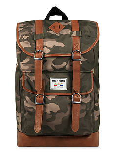 Benrus Scout Camouflage Backpack