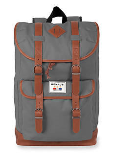 Benrus Scout Grey Backpack