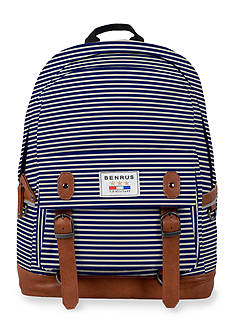 Benrus Calvary Navy Stripe Backpack
