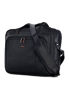 Olympia Luggage Elevate Slim Briefcase - Black
