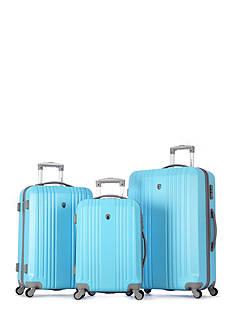 Olympia Luggage Corsair Hardside 3-Piece Luggage Set