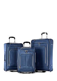 Olympia Luggage Hamburg Luggage 3-Piece Set - Blue