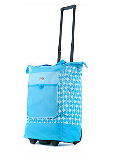 Olympia Luggage Rolling Shopper Tote - Online Only