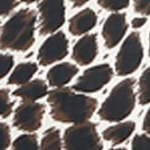 Duffel Bag: Leopard Olympia Luggage OLYMPIA FASHION ROLLING SHOPPER TOTE BUTTERFLY - Style # RS-400