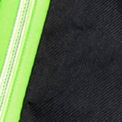 Duffel Bag: Black+Lime Olympia Luggage OLYMPIA 22