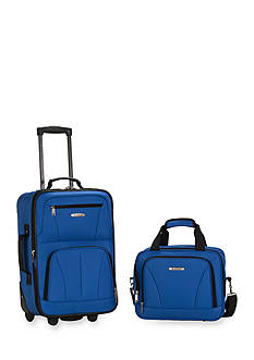 Rockland 2 Piece Luggage Set - Blue