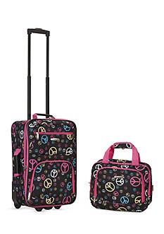 Rockland 2 Piece Luggage Set - Peace