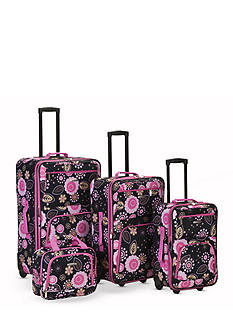Rockland 4-Piece Printed Luggage Set - Pucci