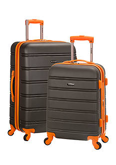 Rockland 2 Piece Expandable ABS Upright Set
