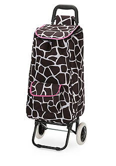 Rockland Rolling Shopping Tote