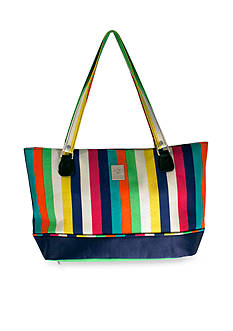 Jenni Chan™ JC STRIPES COMP TOTE MULTI