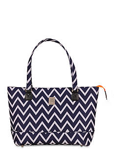 Jenni Chan™ JC ARIA MAD COMP TOTE BLUE
