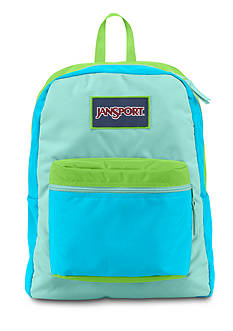 Jansport Overexposed Mammoth Backpack- Aqua