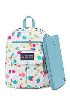 Jansport Digital Student Backpack - Confetti Dots