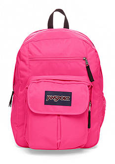 Jansport Digital Big Student Backpack - Fluorescent Pink