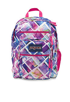 Jansport Big Student Backpack Multi Glow Box