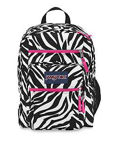 Jansport Big Student Backpack Miss Zebra