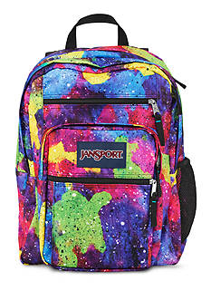 Jansport Big Student Backpack - Neon Galaxy