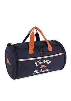 Tommy Bahama Tumbler 20-in. Clamshell Duffel - Navy