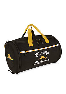 Tommy Bahama Tumbler 20-in. Clamshell Duffel - Black