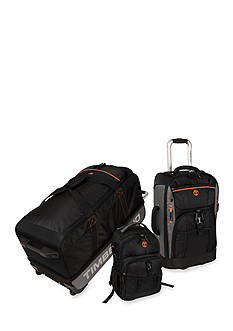 Timberland Hampton Falls 3 Piece Luggage Set - Black