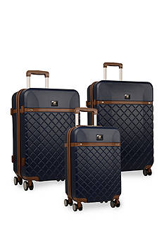 Anne Klein Greenwich 3 Piece Hardside Luggage Set