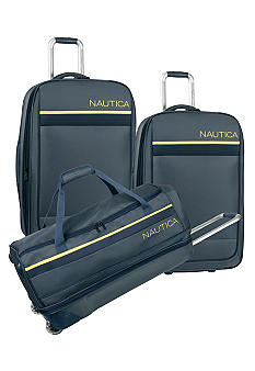 Nautica Harbour Navy Luggage Collection