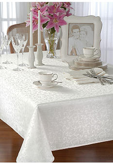 Lenox Opal Innocence Table Linens