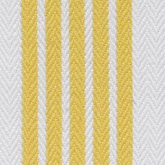 John Ritzenthaler Company: Medium Yellow John Ritzenthaler Company Tech Style Herringbone Stripe Kitchen Towel