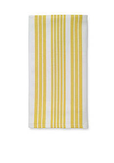 John Ritzenthaler Company Tech Style Herringbone Stripe Kitchen Towel