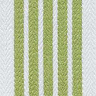 Kitchen Linens: Medium Green John Ritzenthaler Company Tech Style Herringbone Stripe Kitchen Towel