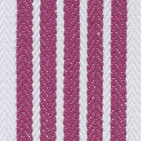 Kitchen Linens: Medium Pink John Ritzenthaler Company Tech Style Herringbone Stripe Kitchen Towel