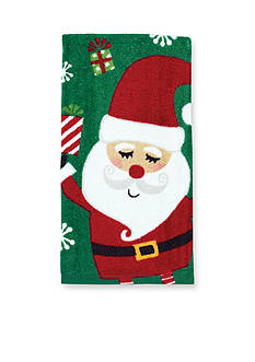 John Ritzenthaler Company Snow What Fun Santa Kitchen Towel