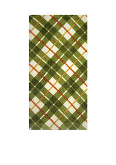 John Ritzenthaler Company Plaid Warm Fiber Reactive Kitchen Towel