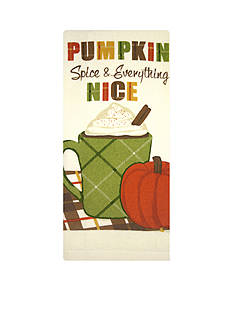 John Ritzenthaler Company Pumpkin Spice And Everything Nice Kitchen Towel